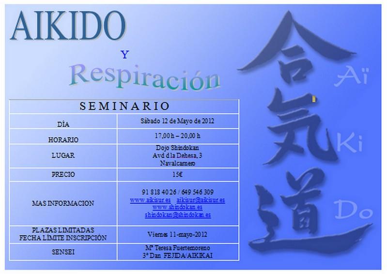 "Seminario ""Aikido y Respiración"""