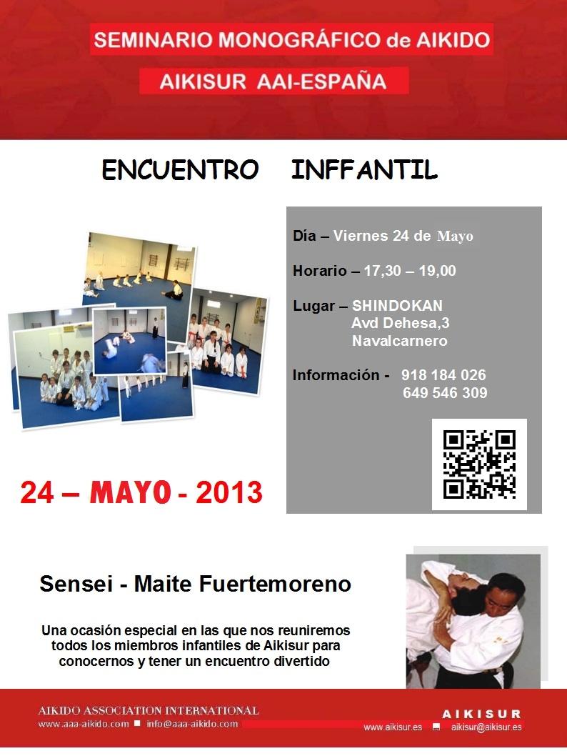 ENCUENTRO INFANTIL – 24 MAYO !!!!