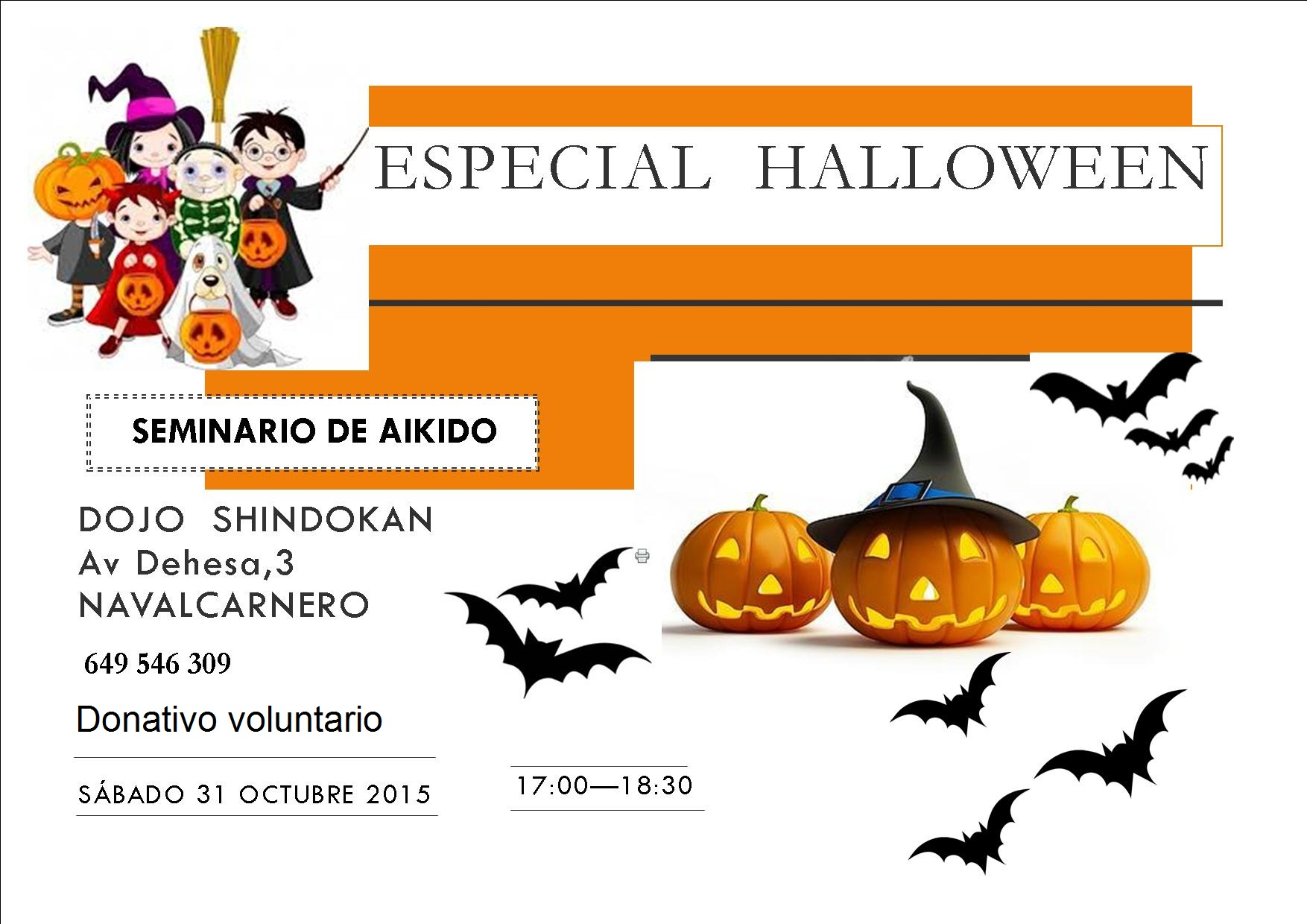 Seminario Especial Halloween