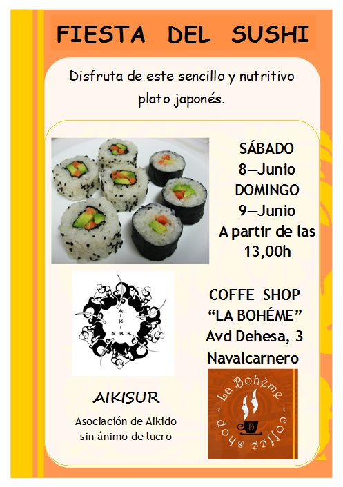 La fiesta del Sushi